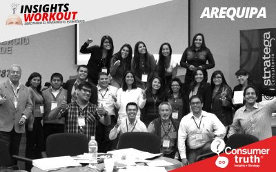 Consumer Truth y Stratega llevaron Workshop Insight Workout a Arequipa