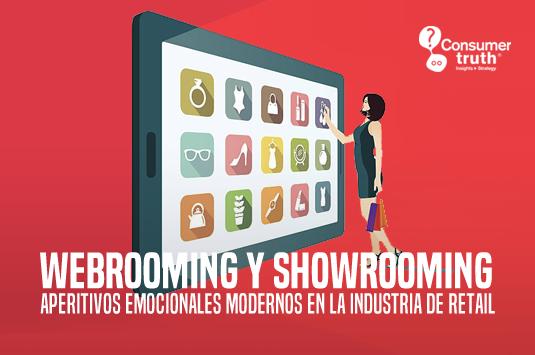 WebRooming y ShowRooming: Aperitivos emocionales modernos en la industria de Retail