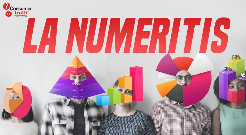 La Numeritis: el peligro de una filosofía empresarial centrada exclusivamente en la medición y no en la comprensión del consumidor