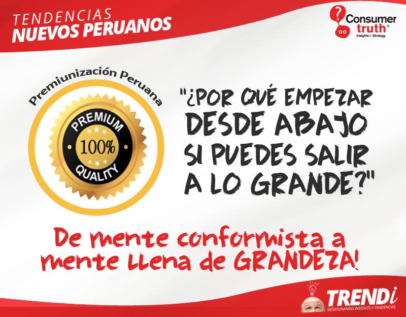 Premiunizacion Peruana