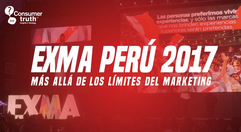 Más allá de los límites del Marketing: EXMA Perú 2017