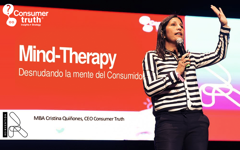 Mind-Therapy: Cristina Quiñones presente en el Reinvention 2018 Ecuador