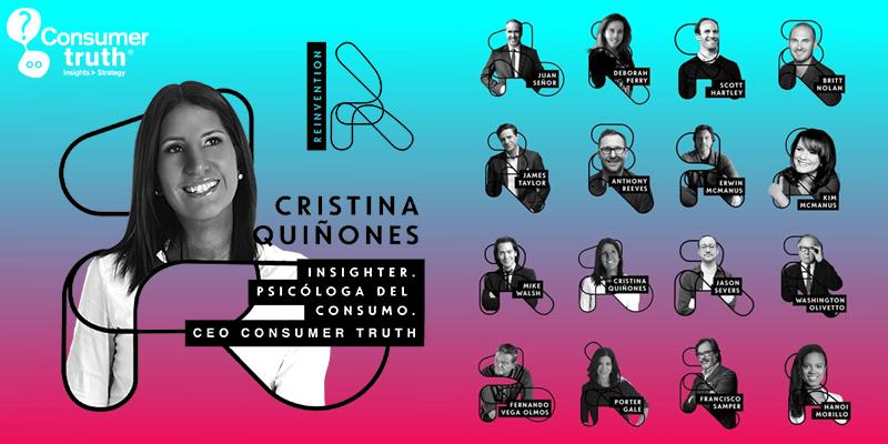 Cristina Quiñones presente en el Reinvention junto a las mentes más disruptivas de LATAM