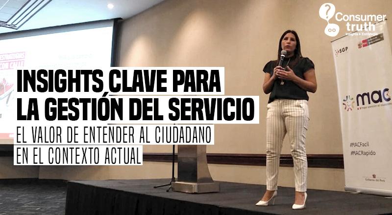 Insights Clave para la Gestión del Servicio: El valor de entender al ciudadano en el contexto actual