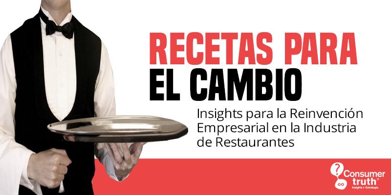 Publicación: Recetas para el Cambio. Insights para la Reinvención Empresarial en la Industria de Restaurantes