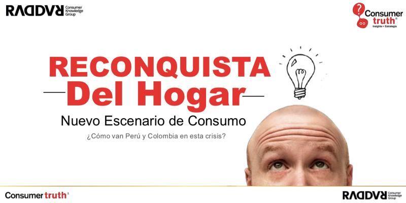 Publicación: La Reconquista del Hogar. Como van Perú y Colombia en la Crisis. Big Data y Street Data