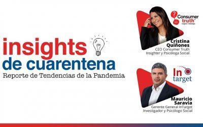 Insights de Cuarentena: Reporte de Tendencias de la Pandemia, de Consumer Truth e InTarget