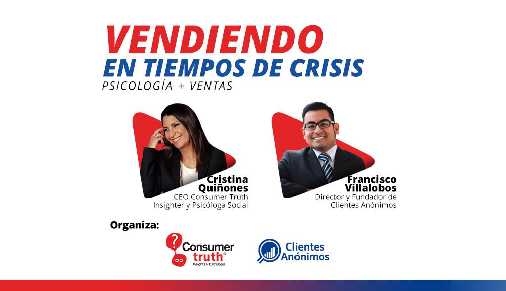 Vendiendo en tiempos de crisis: Psicología + Ventas