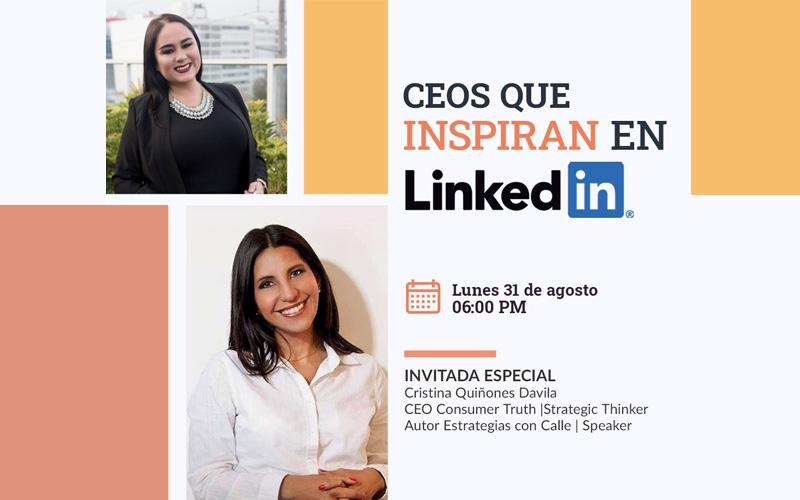 #CEOsQueInspiran: Entrevista a Cristina Quiñones por María Suquilanda