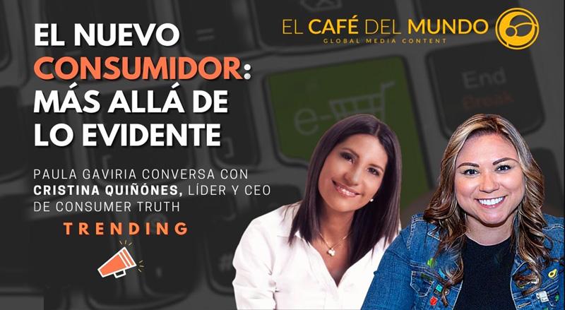 Entrevista a Cristina Quiñones por Paula Gaviria de El Café del Mundo (Colombia)