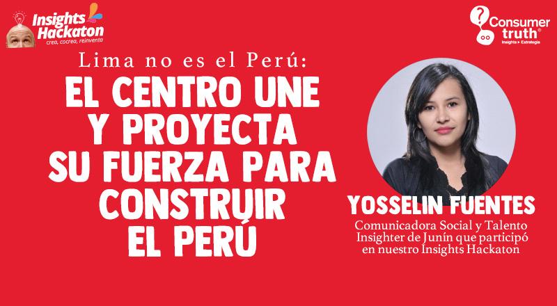 Lima no es el Perú: El Centro une y proyecta su fuerza para construir el Perú